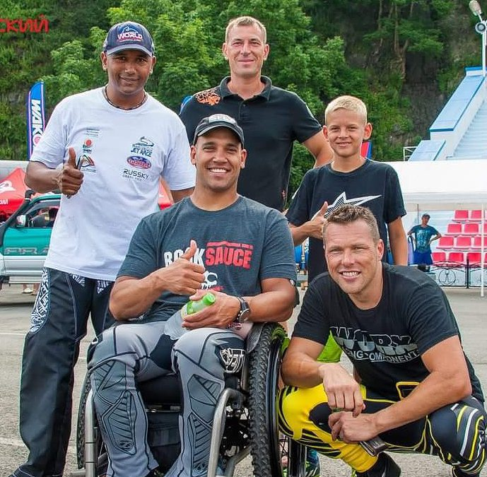 Meet a RockTape H2O Athlete, Anthony Radetic: From Army Helicopter Pilot To Adaptive Watercross Champ