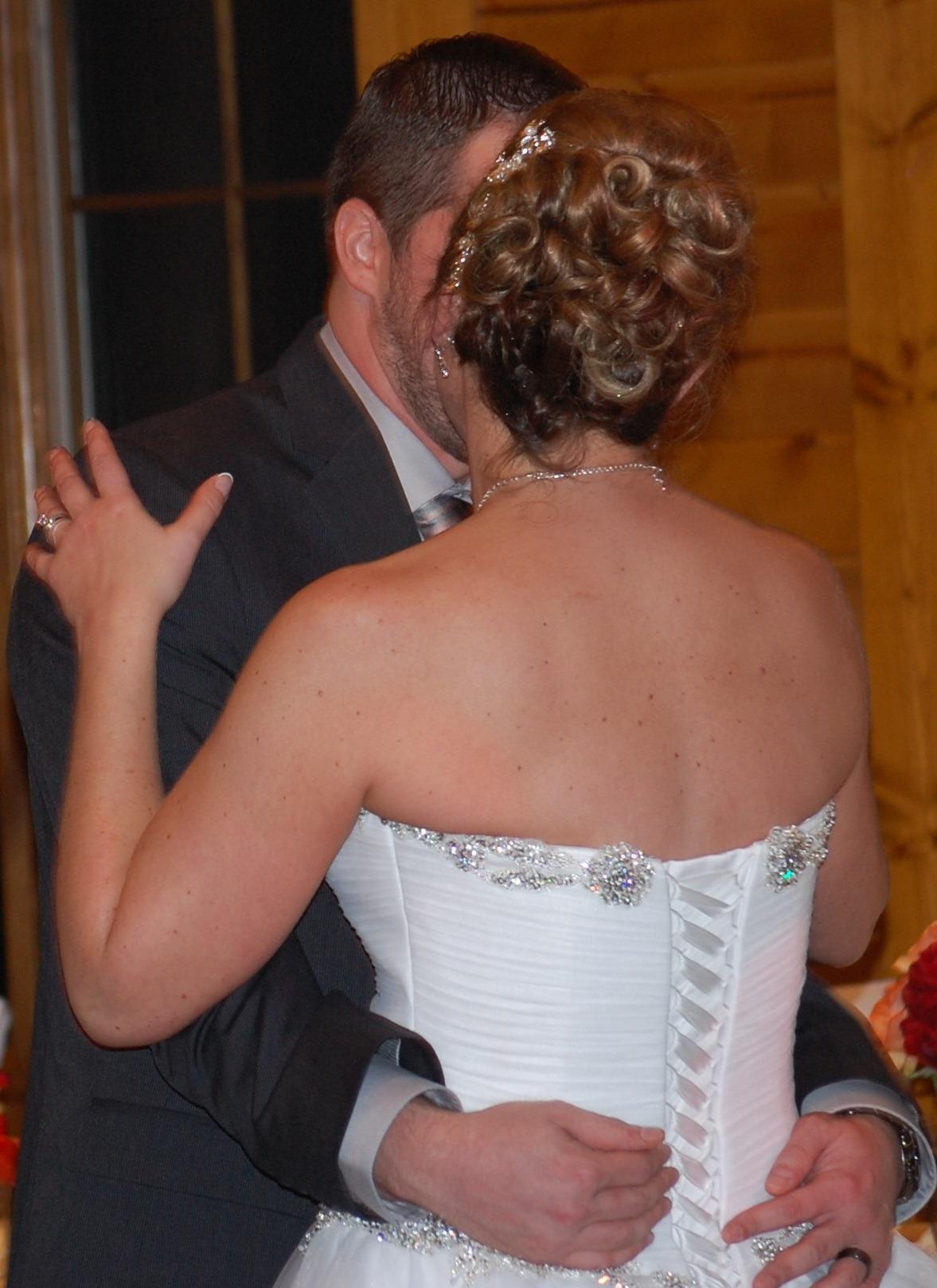 Stacys Wedding Wearing RockTape