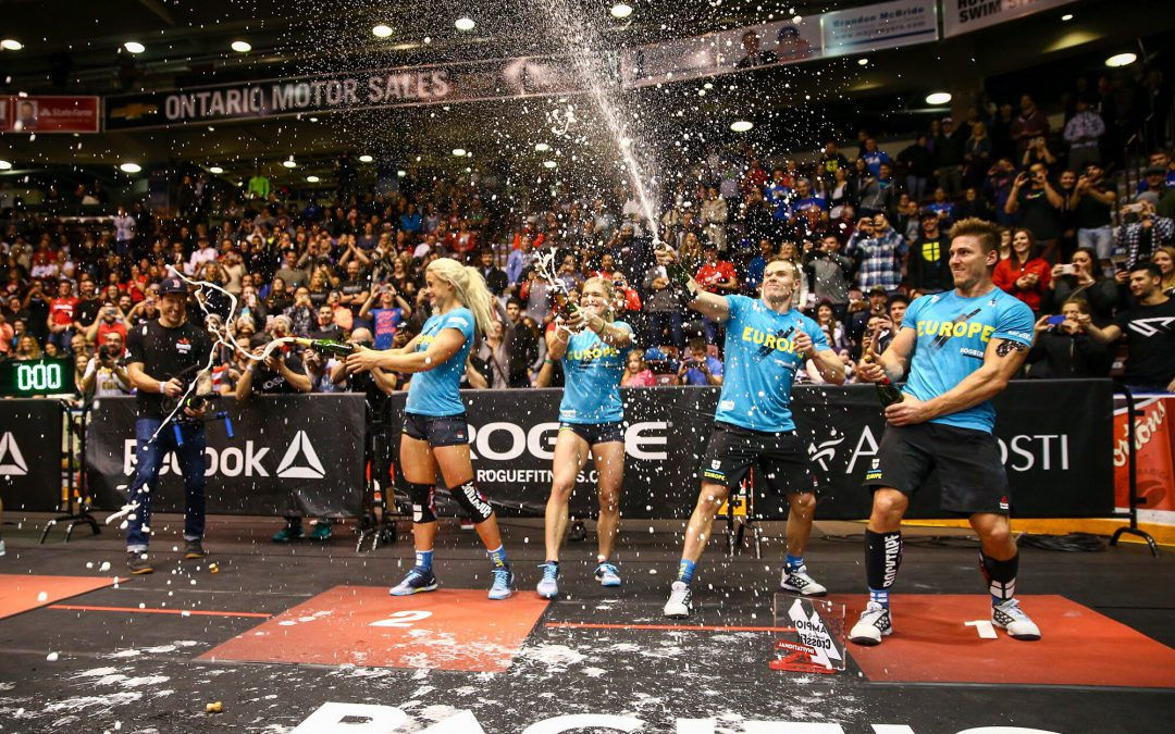 Team RockTape Slays at the 2016 CrossFit Invitational