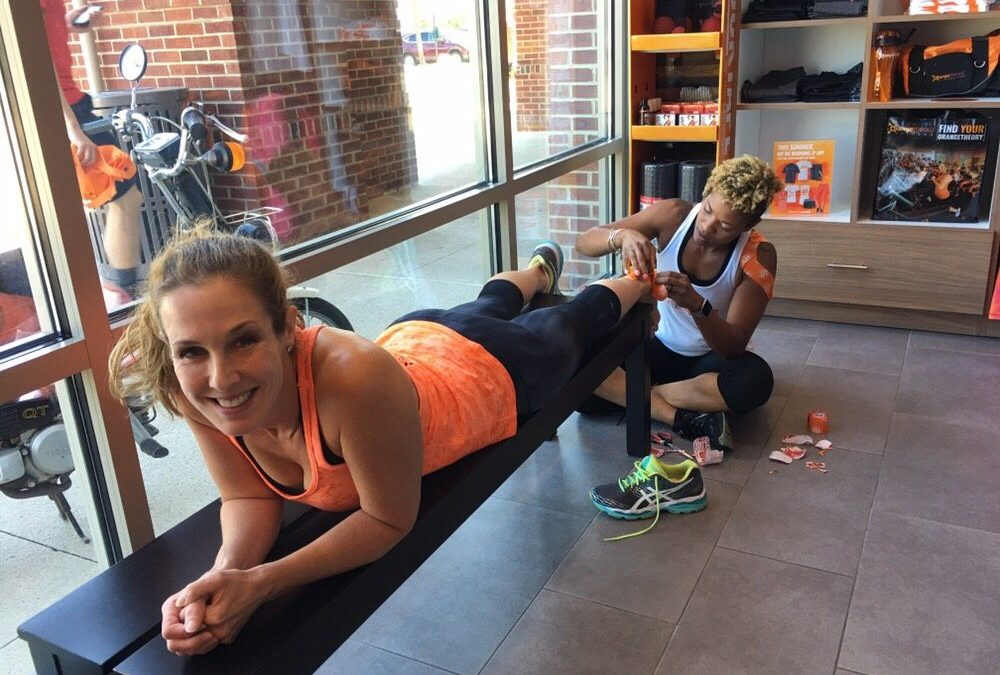 Using RockTape for Orangetheory and High Intensity Interval Training