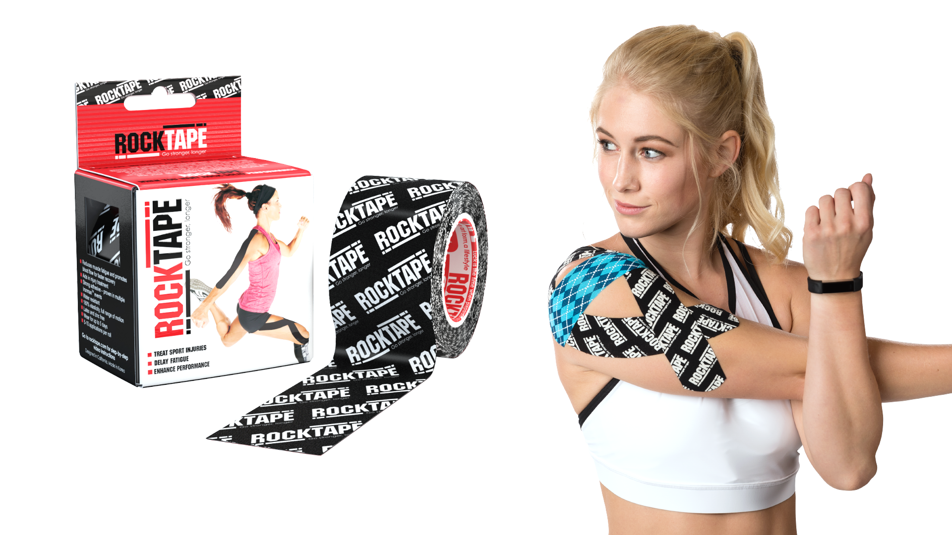 7a5229073e95f The World s Best Kinesiology Tape - Pain Stops Here  - RockTape