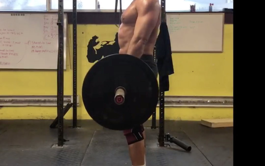 Using the conventional deadlift, Technical mistake #1; Preparation for the CrossFit Open,