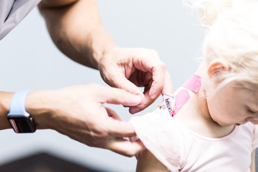 Applying Kinesiology Tape to Pediatric Populations