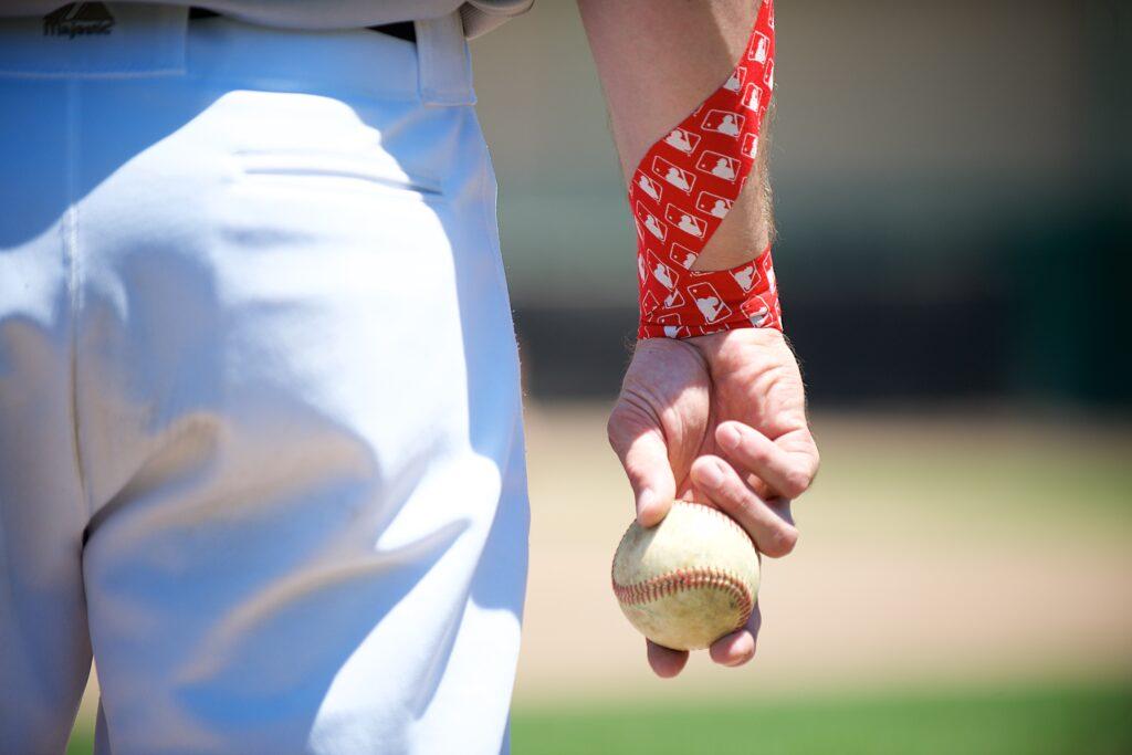 RockTape Kinesiology Tape for Baseball Athlete